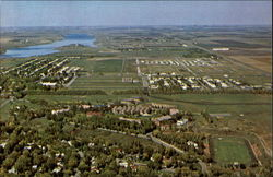 Jamestown College - Aerial View of Campus