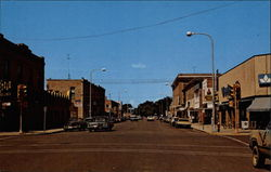 Street Scene of Dickinson, North Dakota