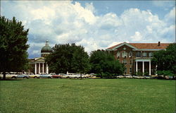 University of Southern Mississippi College Hall and Campus