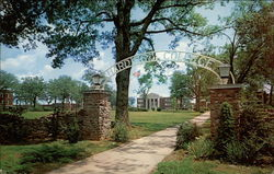 Harding College, Entrance to Campus