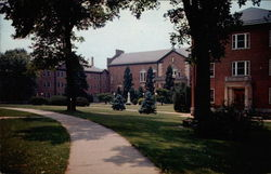 Administration Building, Seton and Marillac Residence Halls, St. Joseph College