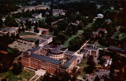 Aerial View of University of Virginia Postcard