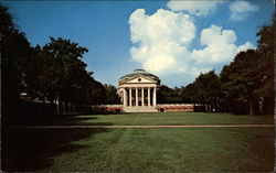 Lawn Looking Toward Rotunda, University of Virginia