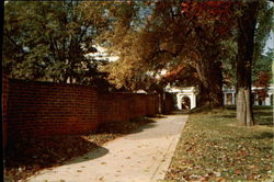 Serpentine Walls, University of Virginia
