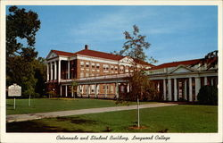 Colonnade and Student Building, Longwood College