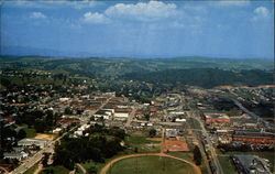 Aerial View of Galax, Virginia