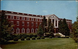 Main Building the Virginia Methodist Assembly Center Postcard
