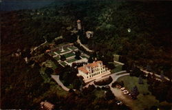 Aerial View of Swannanoa Palace and Classical Gardens