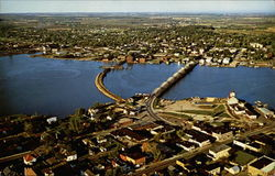 Air View of Sturgeon Bay