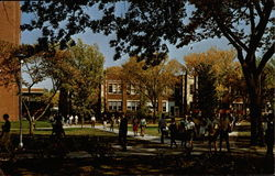 Campus in Fall, Kansas State Teachers College