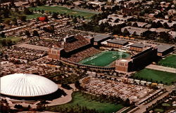Aerial View of Sports Area, University of Illinois