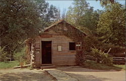 First Berry-Lincoln Store. U. S. Post Office, New Salem State Park Postcard