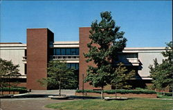 Elijah P. Lovejoy Library - Southern Illinois University at Edwardsville Postcard