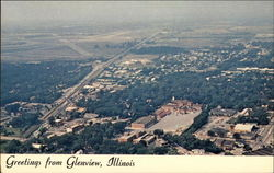 Aerial view of Glenview