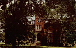 Administration Building - Greenville College Postcard