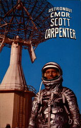 Astronaut Cmdr. Scott Carpenter