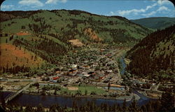Bird's Eye View of Orofino