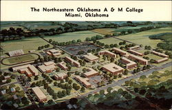 Campus, Northeastern Oklahoma A & M College