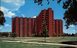 "One of Several ""Towers Dormitories"" at the University of Oklahoma"