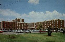 Living Complex at Oklahoma State University Postcard