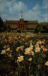 Oklahoma State University Library Postcard