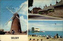 High Street, Medmerry Mill, The Life Boat Station Postcard