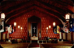 Interior of Chapel One - Sampson Air Force Base