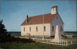 St. Andrew's United Church, Pleasant Bay Postcard