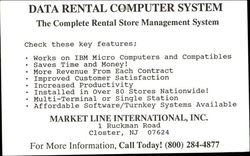 Data Rental Computer System