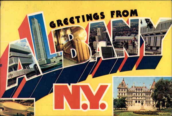 Greetings from Albany, NY New York
