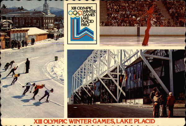 XIII Olympic Winter Games Lake Placid New York Olympics
