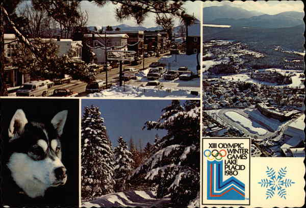 XIII Olympic Winter Games Lake Placid 1980 New York