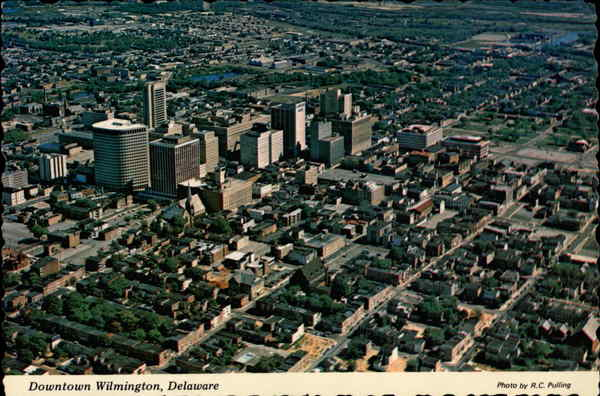 Downtown Wilmington - Aerial View Delaware