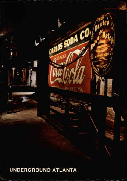 Coca-Cola Sign Atlanta Georgia