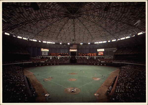 Inside the Astrodome Houston Texas David Damiani Baseball