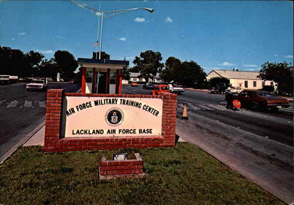Lackland Air Force Base San Antonio Texas