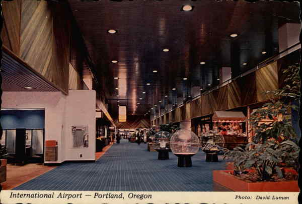 International Airport Portland Oregon Airports