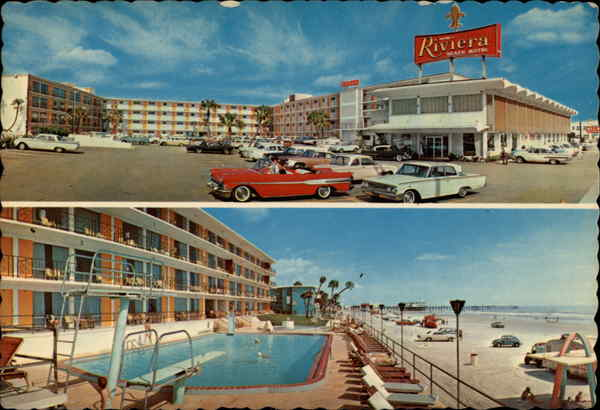 Riviera Resort Motel Daytona Beach Florida