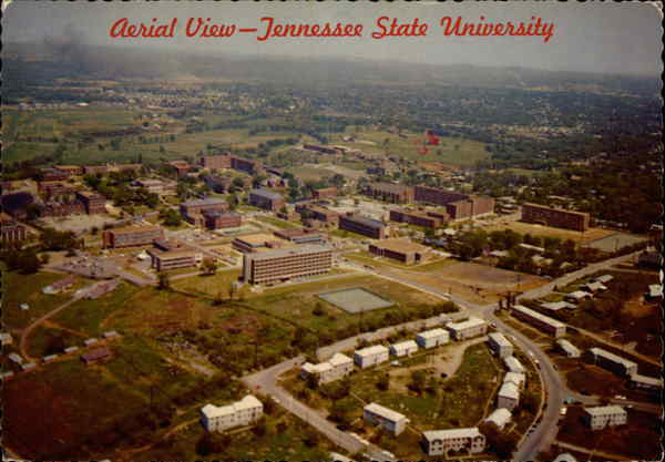 Aerial View - Tennessee State University Nashville