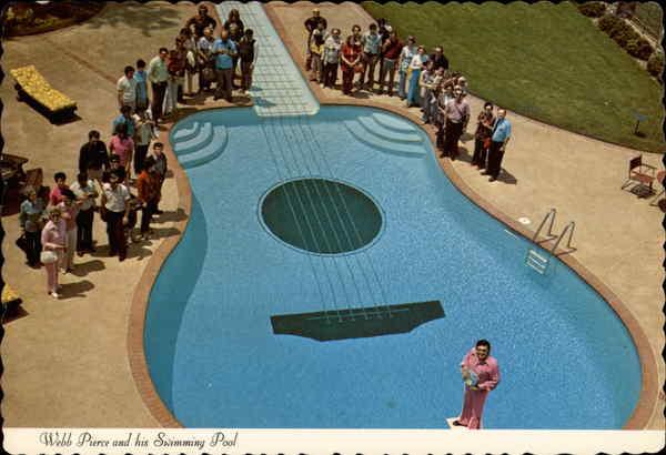 Webb Pierce And His Swimming Pool Nashville Tn