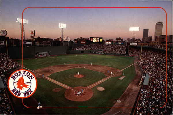 Fenway Park - Home of the Boston Red Sox Massachusetts