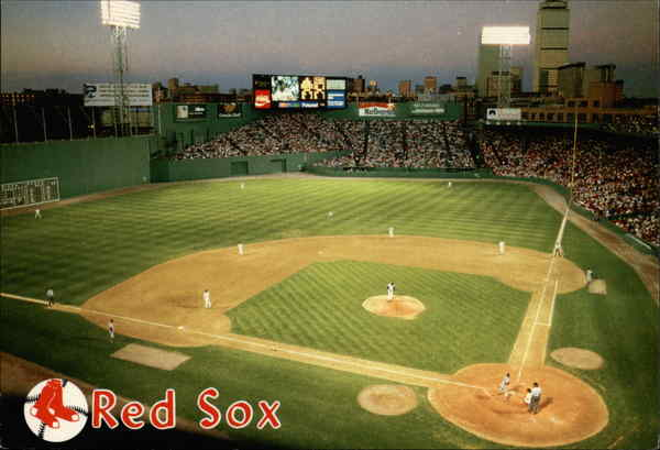 Baseball at Fenway Park Boston Massachusetts