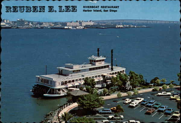 Reuben E. Lee Riverboat Restaurant San Diego California