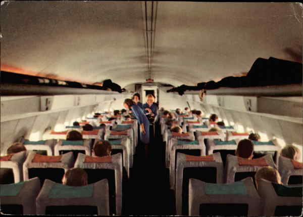 Lufthansa - Airplane Interior Aircraft