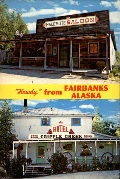 Alaska's world famous Cripple Creek Resort Fairbanks
