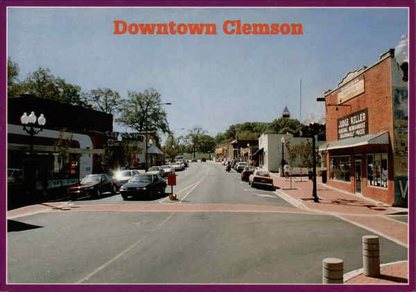 Downtown Clemson Clemson University South Carolina