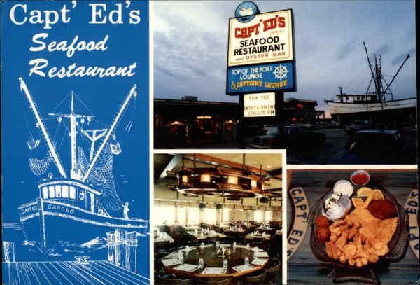 Capt Ed S Seafood Restaurant Port Canaveral Fl