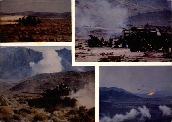 Combined Arms Excercise Twentynine Palms California