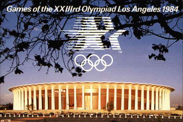 Games of the XXIIIrd Olympiad Los Angeles 1984 California