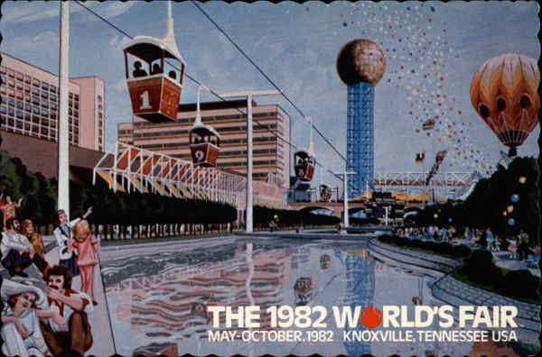 The 1982 World's Fair Knoxville Tennessee Exposition